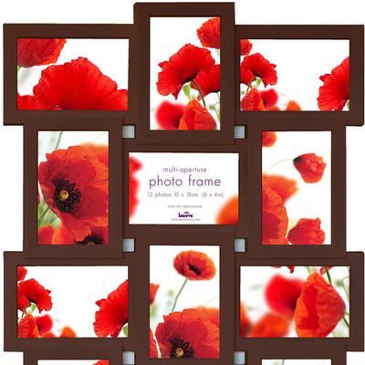 Maggiore IX Multi Photo Frame - Espresso image 2