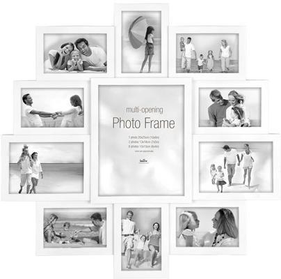 Maggiore XXI Multi Photo Frame - White