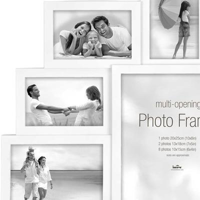 Maggiore XXI Multi Photo Frame - White image 2