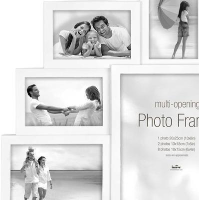 Maggiore XXI Multi Photo Frame - White image 2