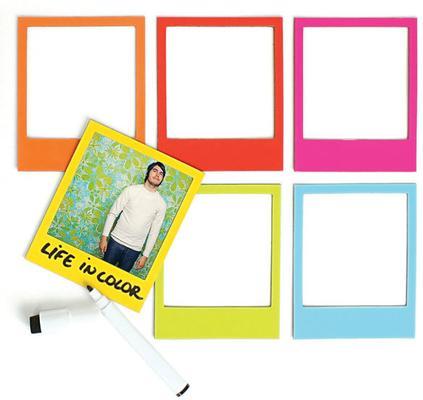 Pola Magnetic Photo Frames Multicolour 6 Pack