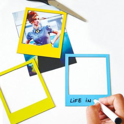Pola Magnetic Photo Frames Multicolour 6 Pack image 2