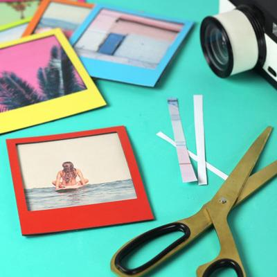 Pola Magnetic Photo Frames Multicolour 6 Pack image 3