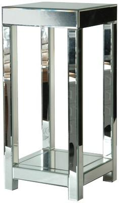 Venetian Plant Stand in Mirrored Glass