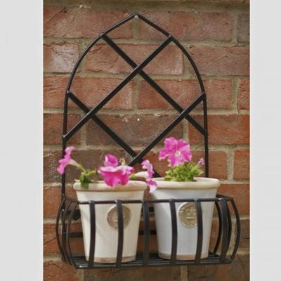 Wrought Iron Wall Planter