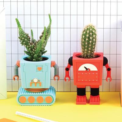 Planter Bot - Red image 2