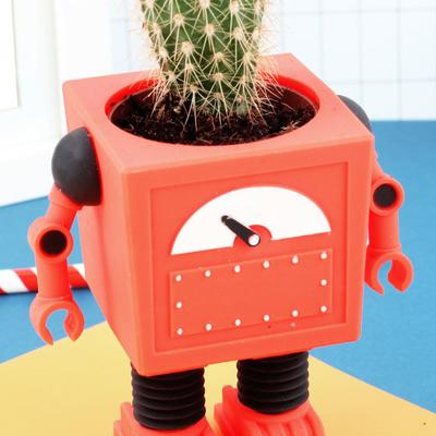 Planter Bot - Red image 4