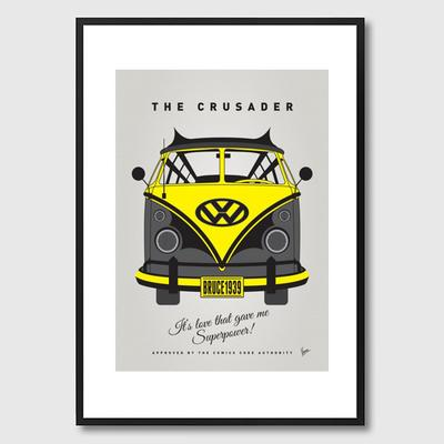 My Superhero VW Batman Framed Print