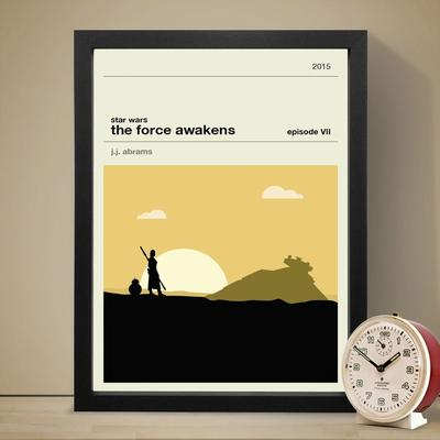 Star Wars The Force Awakens Art Print