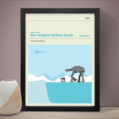 Star Wars The Empire Strikes Back Art Print