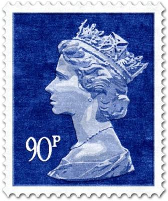 90p Rug - Blue