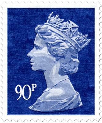 90p Rug - Blue image 2