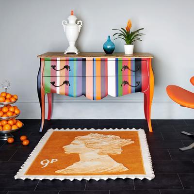 9p Rug - Orange