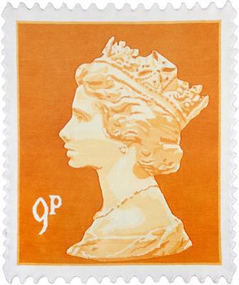 9p Rug - Orange - 144x120cm