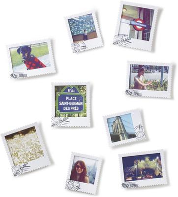 Umbra Set of 9  Postal Photo Display
