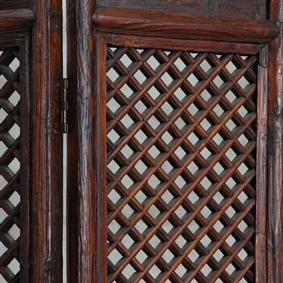 Two Panel Lattice Screen image 3