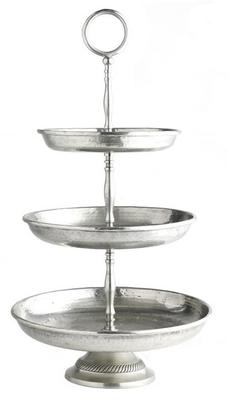 Silver Etagere Cake Stand Five Tiers image 3