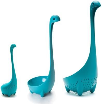 Nessie Soup Ladle - Turquoise image 4
