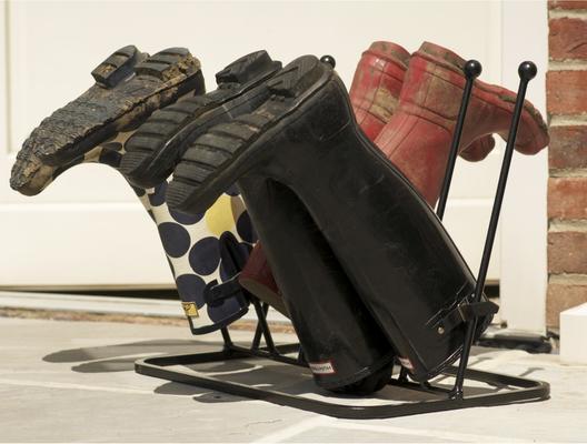 Five Pair Boot Rack