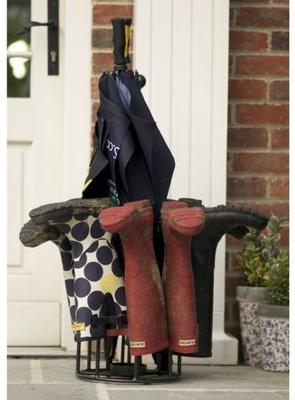 Umbrella and Boot Rack