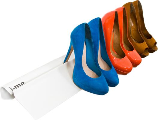 J-me Stiletto High Heel Shoe Rack 700mm White