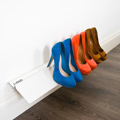 J-me Stiletto High Heel Shoe Rack 700mm White image 2