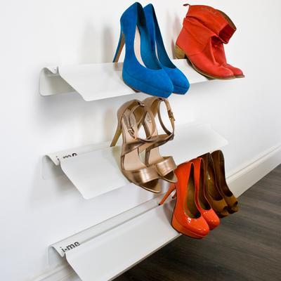 J-me Stiletto High Heel Shoe Rack 700mm White image 3