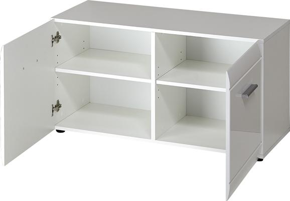 Adelle Small Storage Cupboard - White image 2