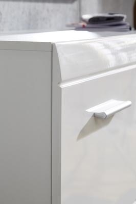 Adelle Small Storage Cupboard - White image 4