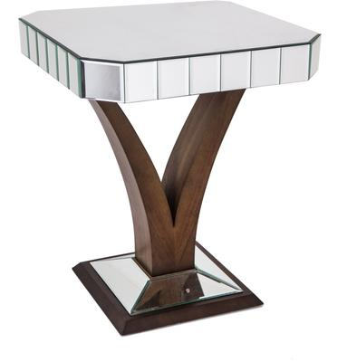 Mirrored Side Table Art Deco