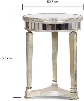Antiqued Venetian Side Table image 2
