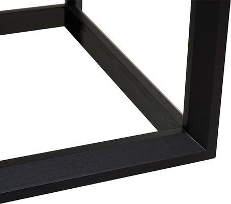 Corso Wenge Oak/White High Gloss Drawer Bedside Table image 6