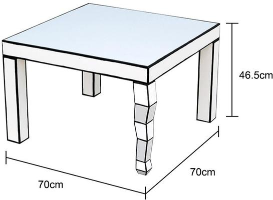 Cartoon Side Table French Quirky Design image 2