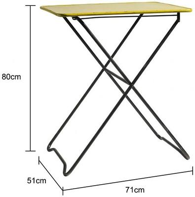Folding Metal Table image 2