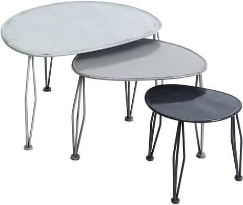 Metal Side Tables - Set of 3 image 3