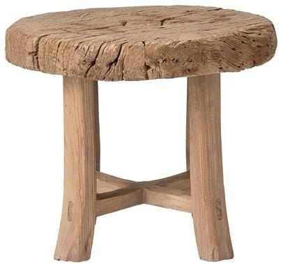 Bloomingville Rustic Wooden Side Table image 3