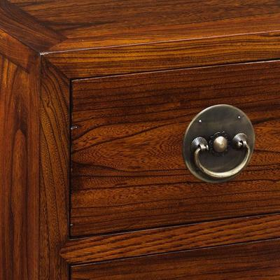 Ming Two Drawer Chest, Warm Elm image 2