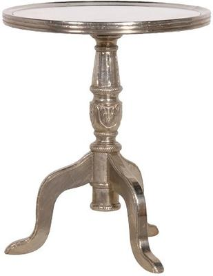 Wine Table with Mirrored Top