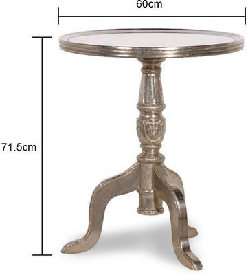 Wine Table with Mirrored Top image 2