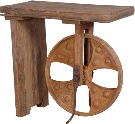 Big Wheel Side Table