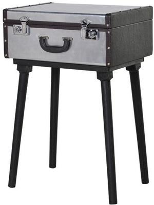 Metal Suitcase Side Table image 2