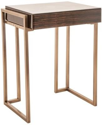 Wood Effect Side Table image 2