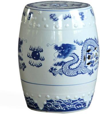 Dragon Ceramic Stool