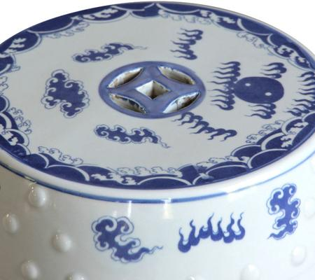 Dragon Ceramic Stool image 2
