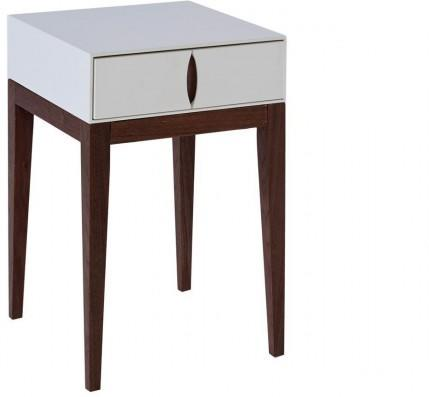 Lux 1 drawer lamp table