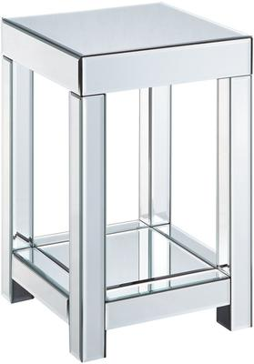 Mirrored Side Table - 3 sizes image 3