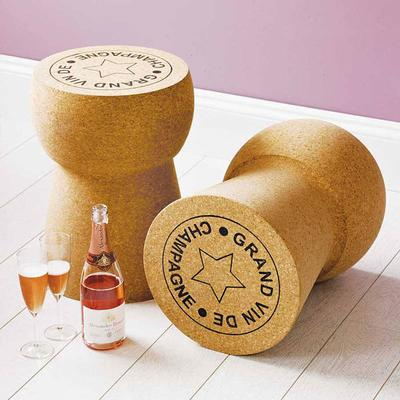 Giant Champagne Cork Side Table image 3