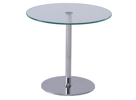 Circular glass top side table - Walter range image 2