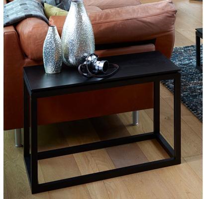 Cordoba Modern Large Side Table Black Wenge Finish image 2
