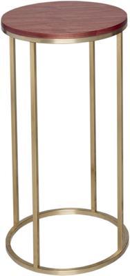 Kensal Circular Lamp Stand WALNUT image 3